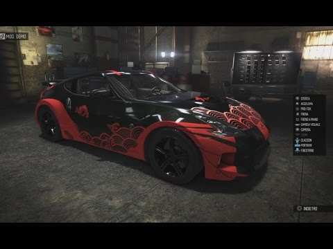 the crew 2013 nissan 370z kit tuning customization ps4. Black Bedroom Furniture Sets. Home Design Ideas
