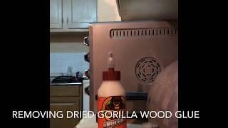 Removing Dried Gorilla W๐od Glue