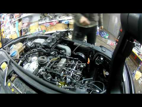 течь крышки клапанов VAG 2.5 TDI V6