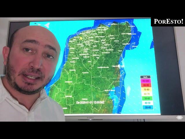 Se prevén tormentas por llegada de nuevo frente frío en Yucatán