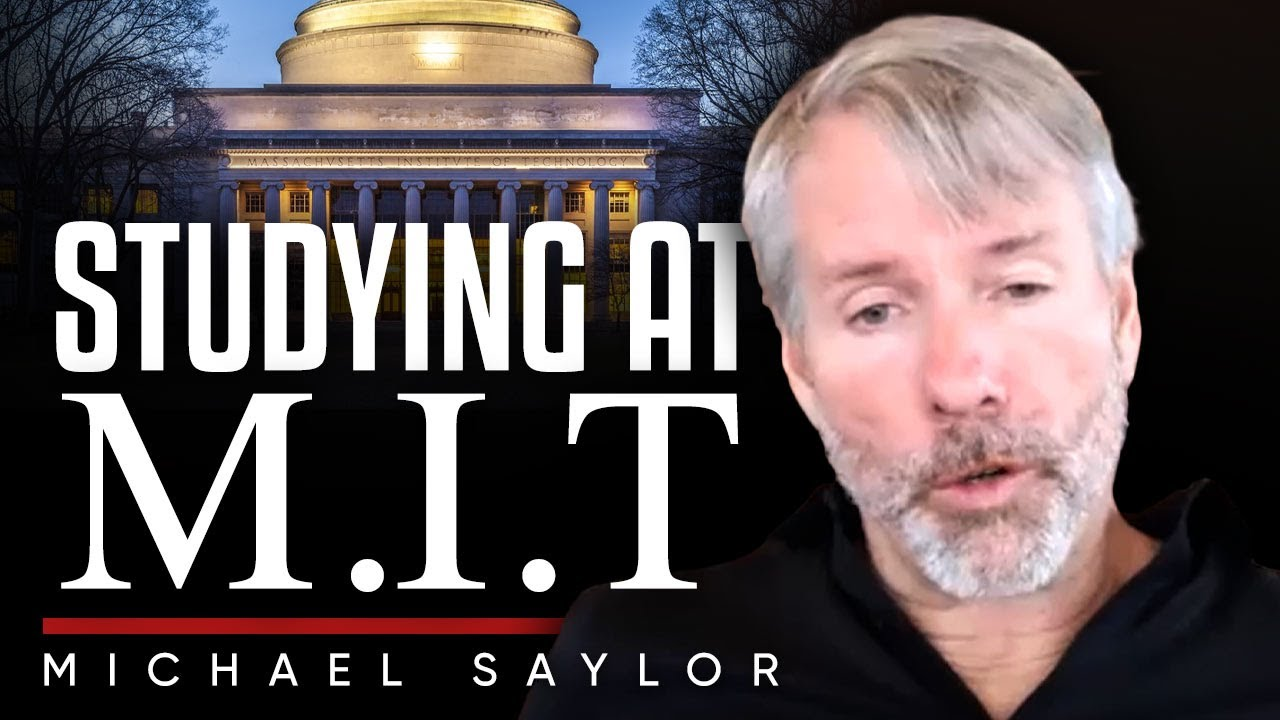 Think For Yourself And Be Fearless 💭  Michael Saylor Shares His MIT & fraternity Experience