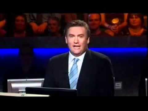 Eddie McGuire farewells Aussie Millionaire in 2006