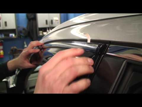 Episode #229 - 2012+ Honda CR-V Door Visor Installation
