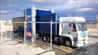 Myjnia TIR Istobal HeavyWash - mycie ciągnika z naczepą