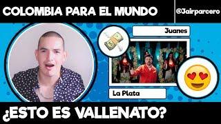 "COLOMBIANO REACCIONA A ""LA PLATA"" DE JUANES Y LALO EBRATT"
