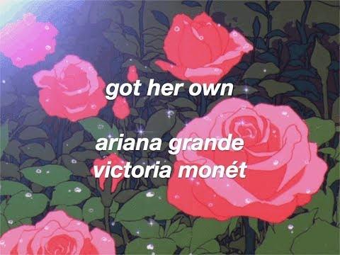ariana grande, victoria monét - got her own (lyrics)