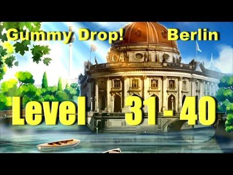 Gummy Drop! Конфетки!  - Berlin Level 31 - 40