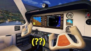 Student Pilot HIJACKS PLANE in Flight Simulator X (Multiplayer)