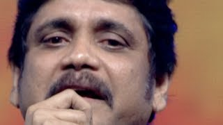 Nagarjuna Crying on Stage - Emotional Speech @ Manam Sangeetam Event - ANR