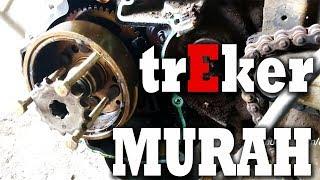 CARA MUDAH BIKIN TREKER MAGNET DARI GEAR BEKAS, YAMAHA VERSION