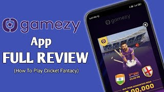 Gamezy App Full Review | How To Play Cricket Fantasy screenshot 4