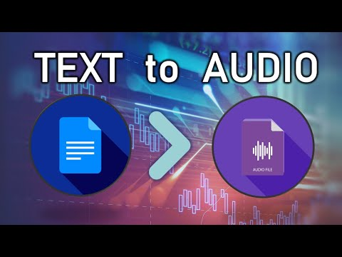 HOW TO SAVE ANY TEXT AS AUDIO FILE (.mp3)
