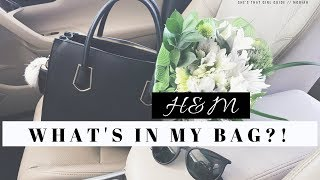 WHAT'S IN MY BAG?!! - FAVORITE H&M PURSE EVER | Moriah Robinson