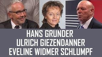 Arena | Hans Grunder (BDP) und Ulrich Giezendanner (SVP) über Eveline Widmer-Schlumpf | 11.10.2019