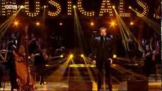 Alfie Boe sings Bring Him Home on Strictly Come Dancing Dec 2013