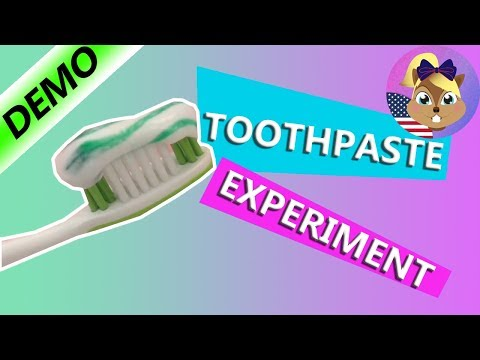 How do the stripes get in my toothpaste? I Experiment