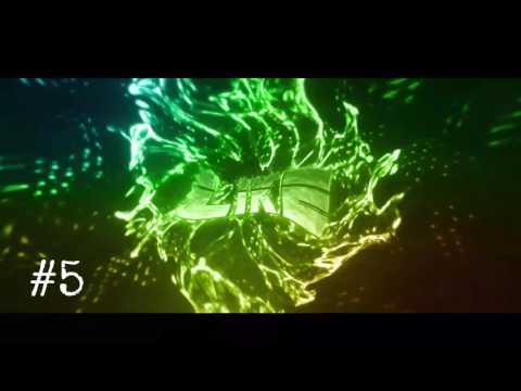 Top 10 Intros Para Final De Vídeo + Download ( 1 View + 1 Like ? )