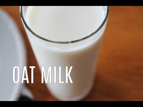 Homemade Oat Milk recipe / Creamy smooth and super easy