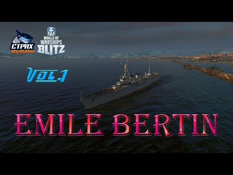 WOWS BLITZ ФЛОТ СТРАХ: Emile Bertin V