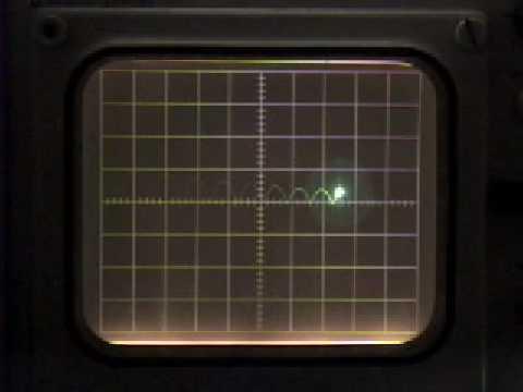 Analog Computer Bouncing Ball