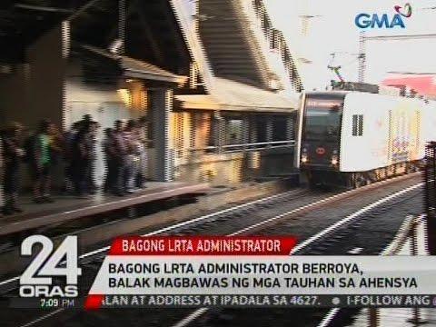 Bagong LRTA Administrator Berroya, balak magbawas ng mga tauhan sa ahensya