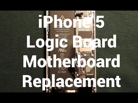 IPhone 5 How To Change Logic Motherboard - Replacement