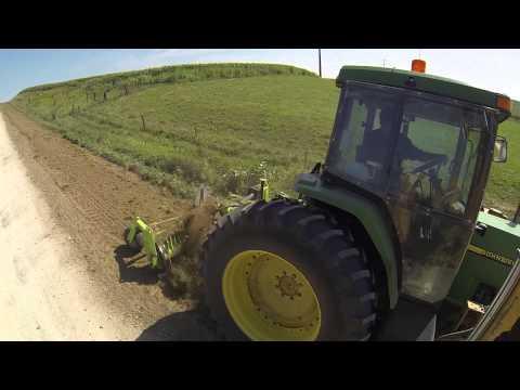 Schulte SRW 800 Gravel Reclamation on Road in Adair County, Iowa