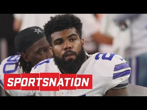 Ezekiel Elliott six-game suspension back on   SportsNation   ESPN