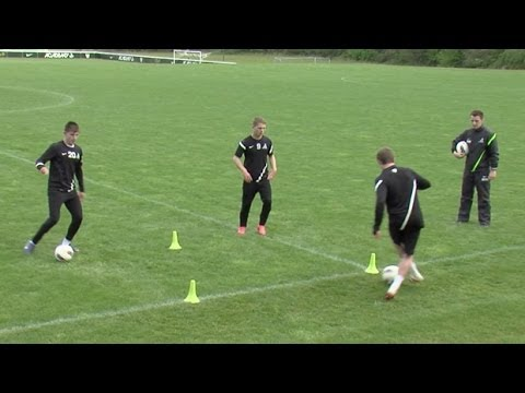 Master ball control  Soccer training drills  Nike Academy