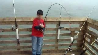 Grande Fishing 61st St Pier Galveston,Tx