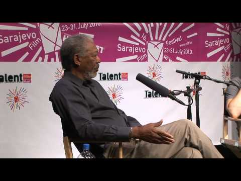 Morgan Freeman at Sarajevo Talent Campus, Excerpt from Conversation