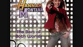 Hannah Montana - Best of Both Worlds (Instrumental/Karaoke)