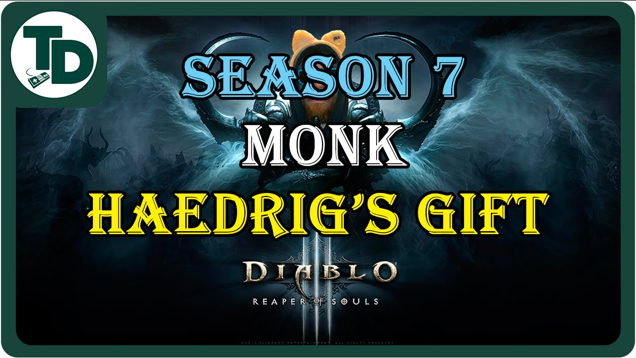 Before and after Haedrig's Gift for Monk | Diablo 3 Season 7 Monk ...