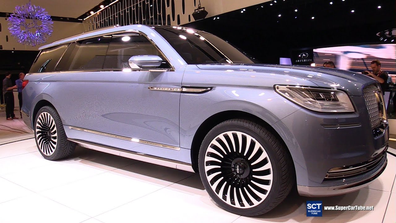 2017 Lincoln Navigator Concept Exterior And Interior Walkaround Debut At 2016 New York Auto Show