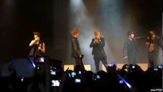 [HD fancam] 130209 Teen Top - Girlfriend @ Trianon, Paris