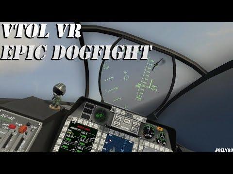 VTOL VR EPIC DOGFIGHT! | HTC VIVE VR VIRTUAL REALITY
