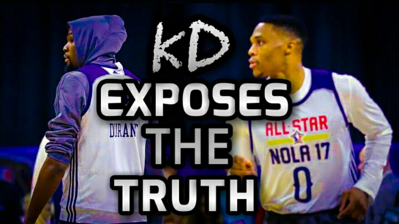 13765d20d29f  KD EXPOSES THE TRUTH ABOUT WESTBROOK!!!  KD   WESTBROOK FRIENDS AGAIN   -  NBA 2K17 (RANT!)