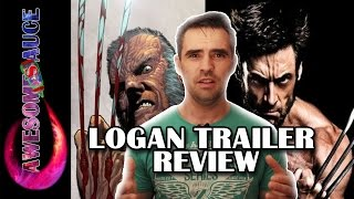 Logan Wolverine 3 official trailer REVIEW ! #Awesometacular #TeamAwesome