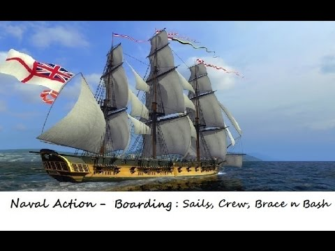 Naval Action : How to board and capture an AI