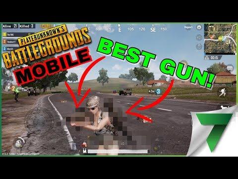 FINDING THE BEST GUN PUBG MOBILE!!   PlayerUnknown's Battlegrounds Mobile