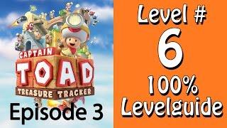 Captain Toad Treasure Tracker - 100% Guide - Level 6 - Auf den Spuren der Pünktchen