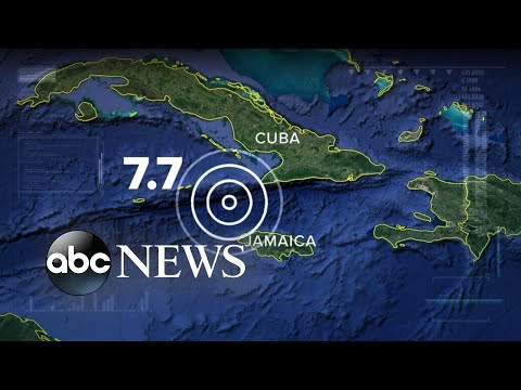 7.7 magnitude earthquake causes evacuations in Miami