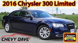 Preowned 2016 Chrysler 300 Limited Model Review and It