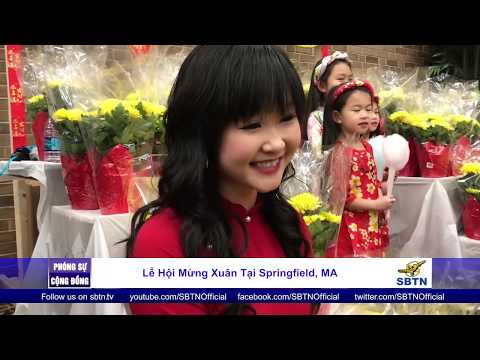 PHÓNG SỰ CỘNG ĐỒNG: Lễ hội mừng Xuân tại Springfield, Massachusetts