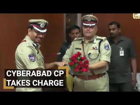 V C Sajjanar takes charge as Cyberabad Commissioner