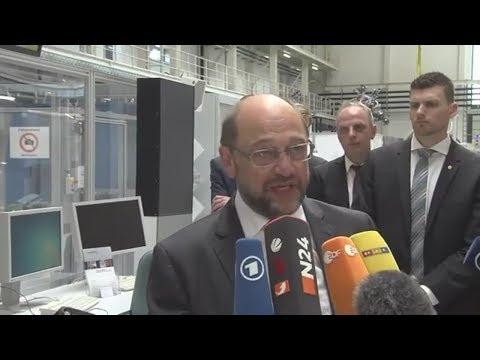 Bundestagswahl 2017: Martin Schulz startet Aufholjagd auf Merkel