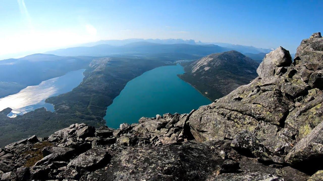 Durmålstinden mountain in Sørfold