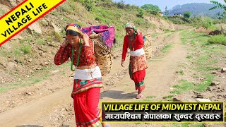 Village Lifestyle of Midwest Nepal   Poor but very happiest people    IamSuman