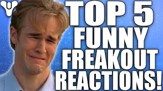 Destiny: Funny Top 5 Freakout Reactions Of The Week / Episode 85