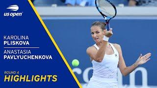 Karolina Pliskova vs Anastasia Pavlyuchenkova Highlights